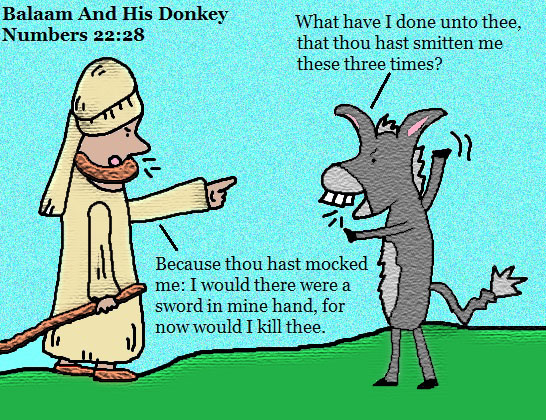 Balaam and His Donkey